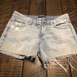 Lucky Brand Jean shorts/cut offs/ size 4/27